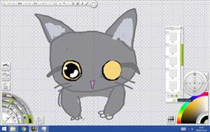 猫の目のサンプル3の図