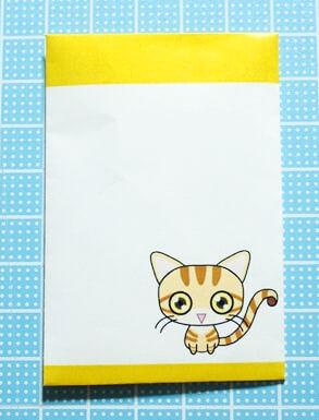 マンチカンの猫ポチ袋