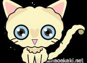 猫イラスト:セルカークレックス