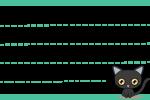 日本猫(黒猫)