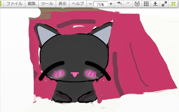 コタツと猫イラスト2