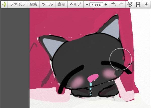 画力がなくても、基本の絵からバリエーションを増やす方法(黒猫コタツ編)