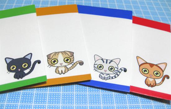 猫グッズ:猫ぽち袋完成図