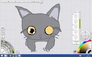 猫の目のサンプル1の図