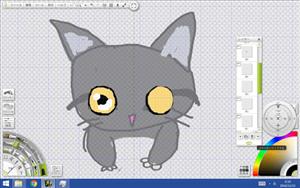 猫の目のサンプル2の図