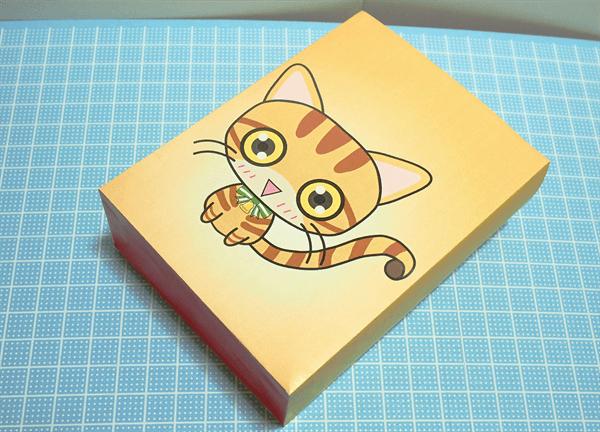 猫ギフトバッグの本体部分完成