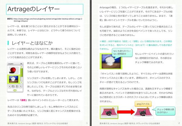 Artrageのレイヤー(公式マニュアルの日本語訳3)
