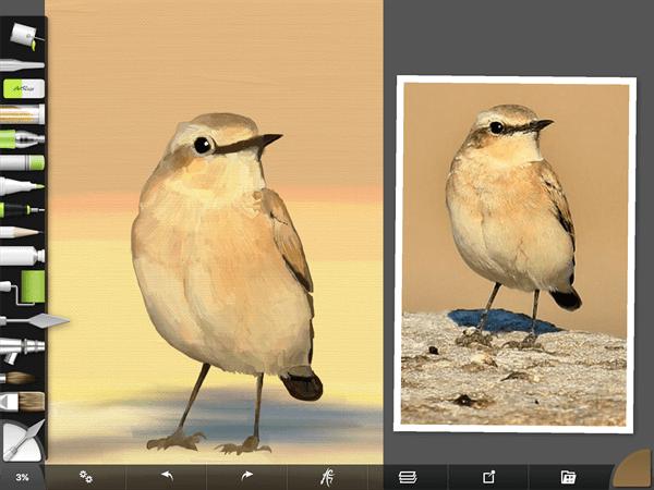 iPadで描いた油絵